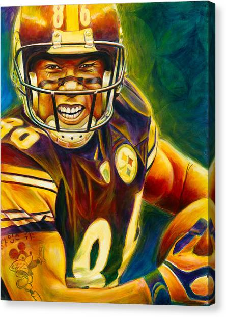 Pittsburgh Steelers Canvas Print - Never Forgotten by Scott Spillman