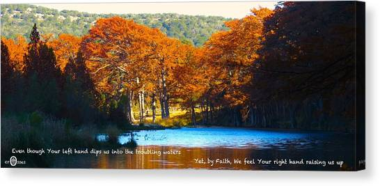 Never Forsaken Canvas Print