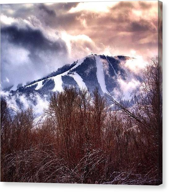 Idaho Canvas Print - Never Give Into Somebody Else's Dream by Cody Haskell