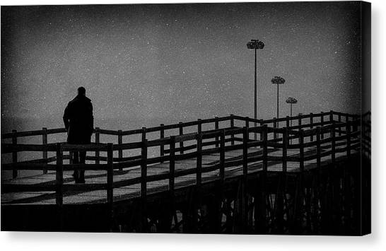 Never Goodbye Canvas Print by Paulo Abrantes