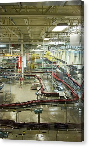 Craft Beer Canvas Print - New Belgium Brewery by Jim West