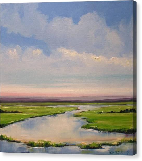 New Dawn Canvas Print by Dianna Poindexter