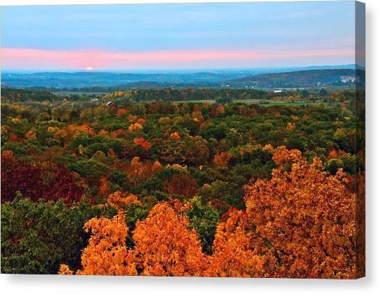 New Day Canvas Print by Julie Franco