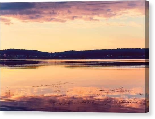Jenny Lake Canvas Print - New Day New Hope by Jenny Rainbow