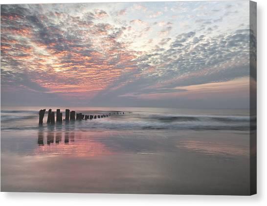 New Day Sunrise Sunset Image Art Canvas Print