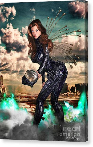 New Earth 3017 Canvas Print