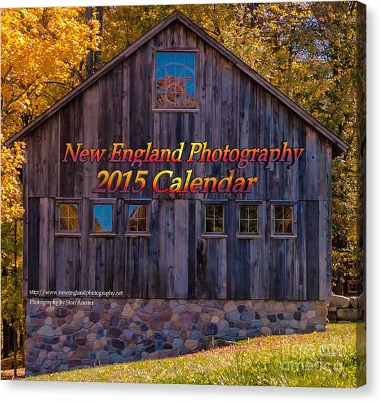 New England Photography 2015 Calendar. Canvas Print