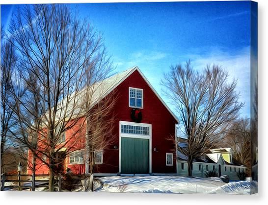 New Hampshire Farm Canvas Print