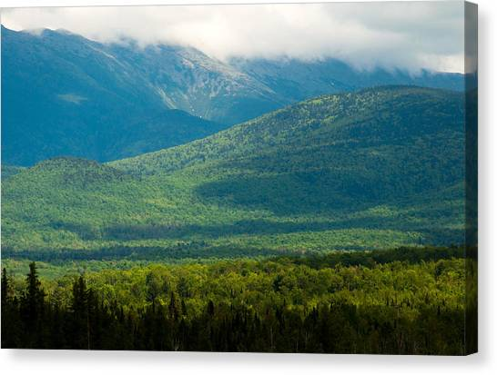 New Hampshire Mountainscape Canvas Print