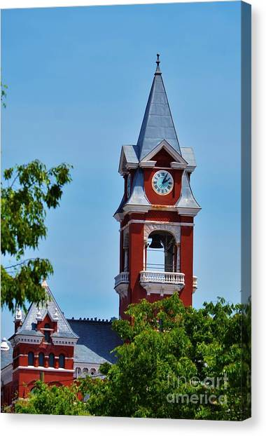 New Hanover County Courthouse Bell Tower Canvas Print