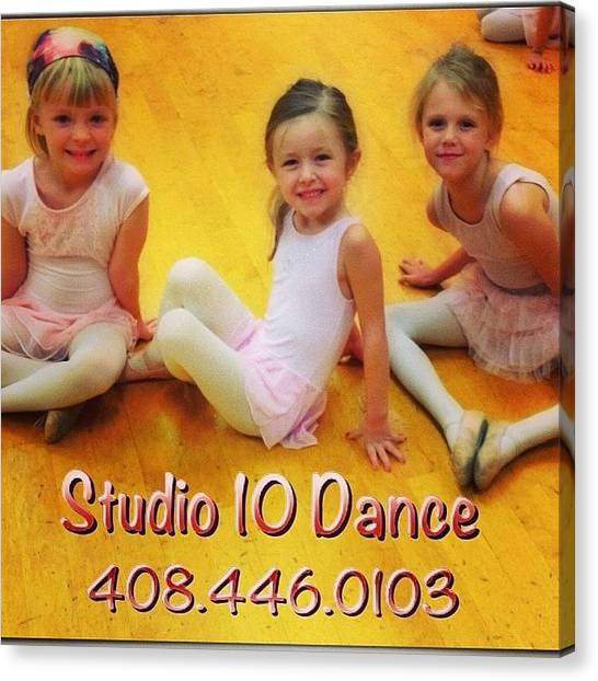 Tap Dance Canvas Print - New Kid And Adult Classes. View Our by Studio 10 Dance