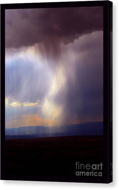 New Mexican Afternoon Canvas Print