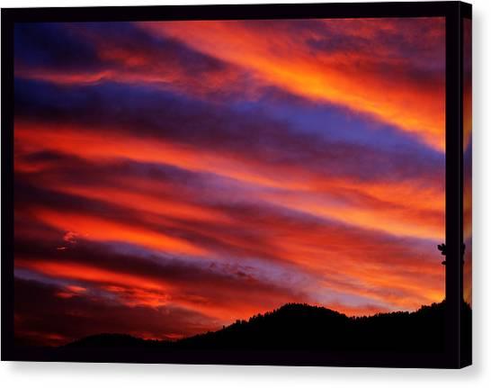 New Mexican Sunrise Canvas Print
