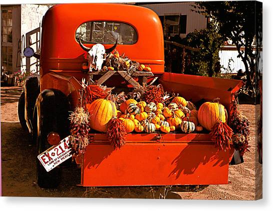New Mexico Truck Canvas Print