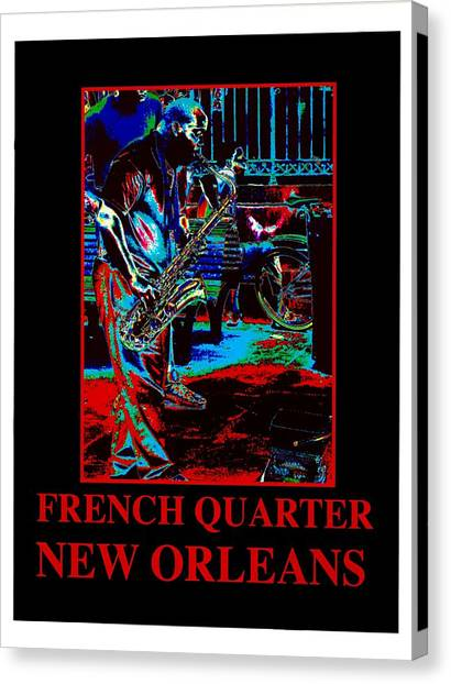 New Oleans-01 Canvas Print
