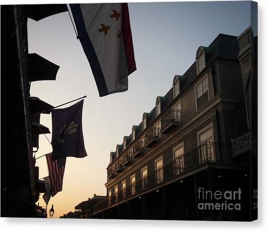 Evening In New Orleans Canvas Print
