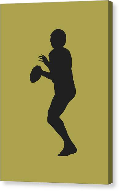 Drew Brees Canvas Print - New Orleans Saints Drew Brees by Joe Hamilton