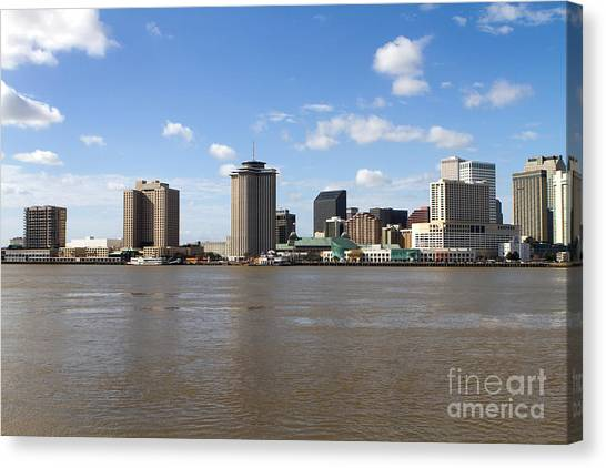 New Orleans Skyline Canvas Print