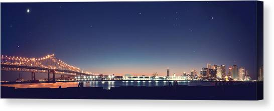 New Orleans Skyscape Canvas Print