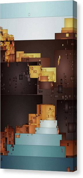 New Pueblo 1 Canvas Print