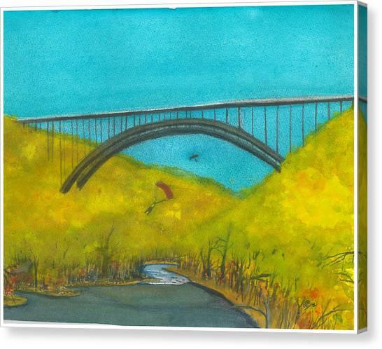 New River Gorge Bridge On Bridge Day Canvas Print
