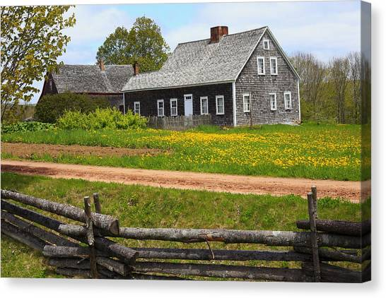 New Ross Farm Museum Canvas Print