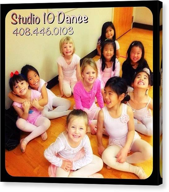 Tap Dance Canvas Print - New Wednesday Class For Ages 5-6 Years by Studio 10 Dance