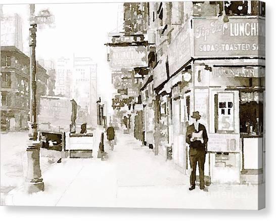 New York 1940 Canvas Print
