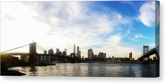 Broadway Canvas Print - New York City Bridges by Nicklas Gustafsson