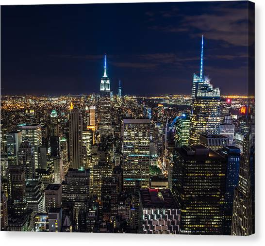 Singh Canvas Print - New York City by Larry Marshall