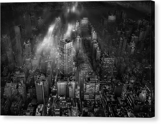 New York City Canvas Print by Leif L?ndal