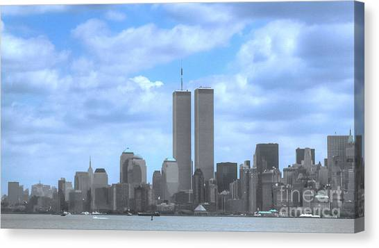 New York City Twin Towers Glory - 9/11 Canvas Print