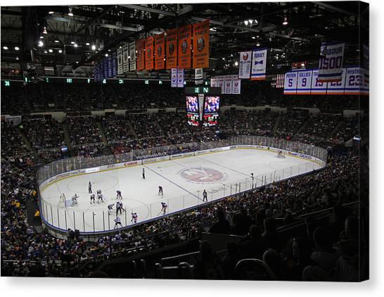 New York Islanders Canvas Print - New York Islanders by Juergen Roth