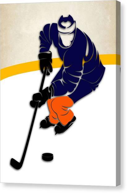 New York Islanders Canvas Print - New York Islanders Rink by Joe Hamilton