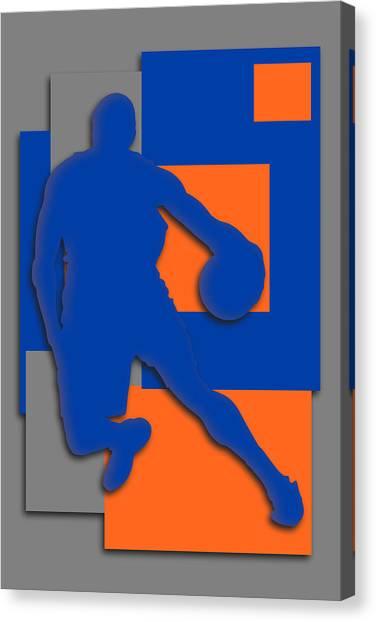 New York Knicks Canvas Print - New York Knicks Art by Joe Hamilton