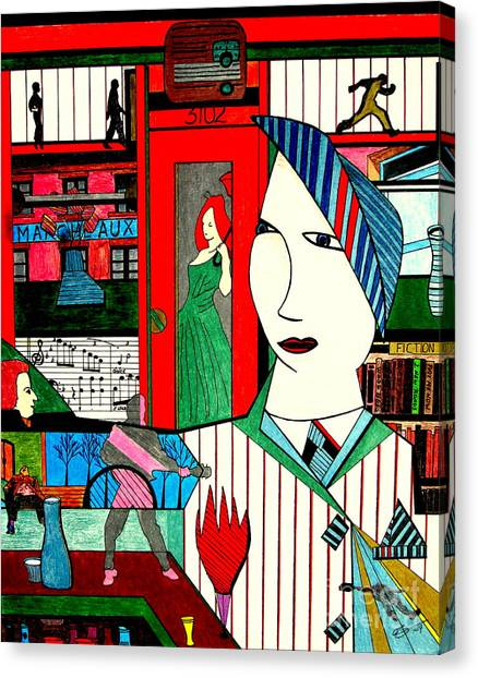 New York Life Canvas Print