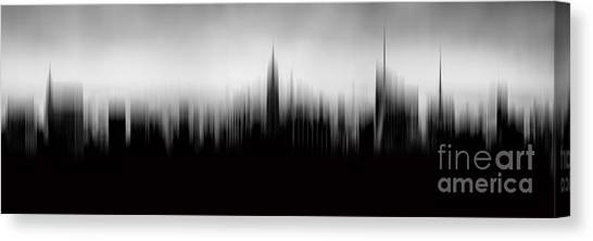 Empire State Building Canvas Print - New York Skyline Abstract by Az Jackson