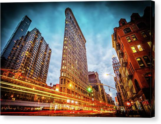 New York State Of Mind Canvas Print by Marc Perrella