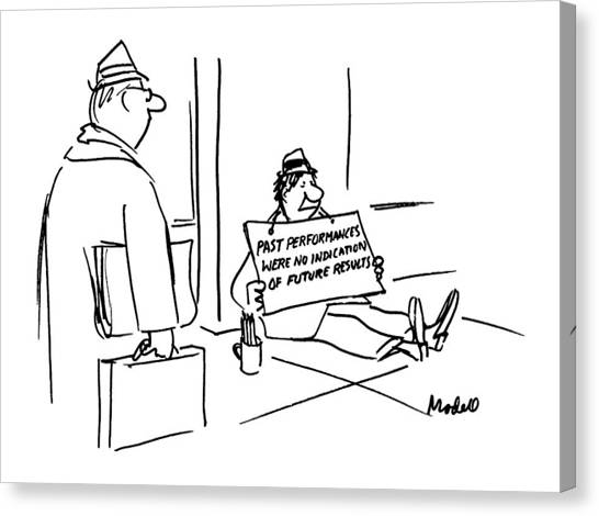 New Yorker April 30th, 1990 Canvas Print