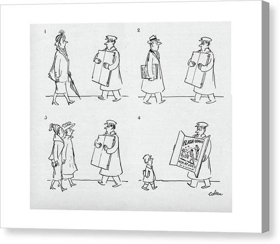 New Yorker April 9th, 1949 Canvas Print