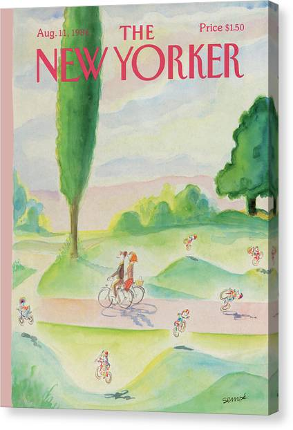New Yorker August 11th, 1986 Canvas Print