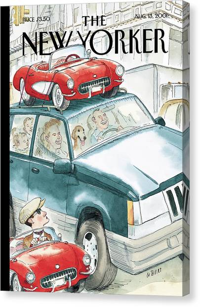 New Yorker August 13th, 2001 Canvas Print