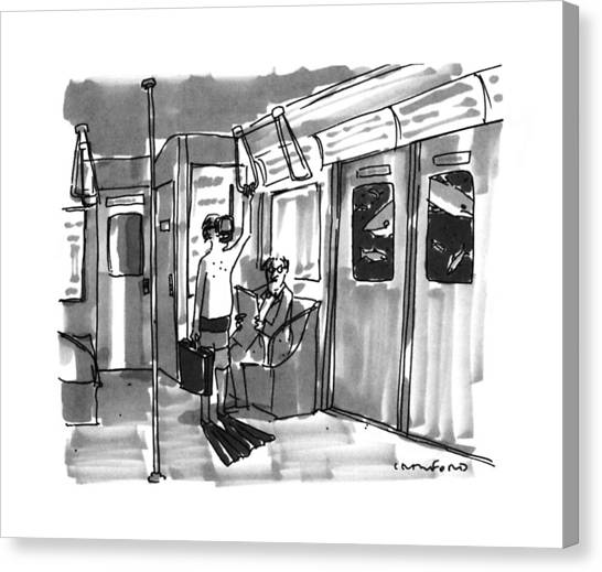 New Yorker August 14th, 1995 Canvas Print