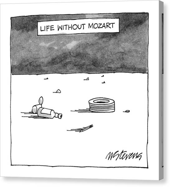 Life Without Mozart Canvas Print