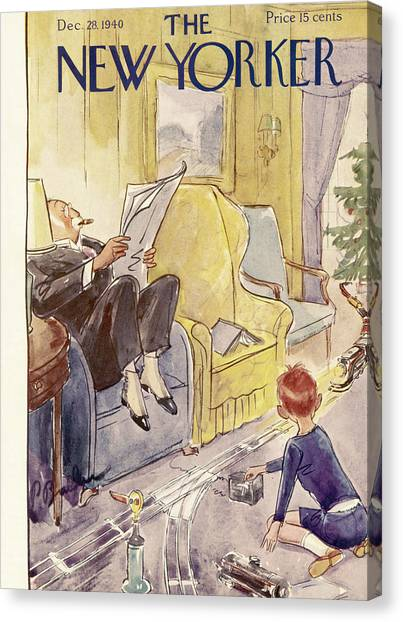 New Yorker December 28th, 1940 Canvas Print