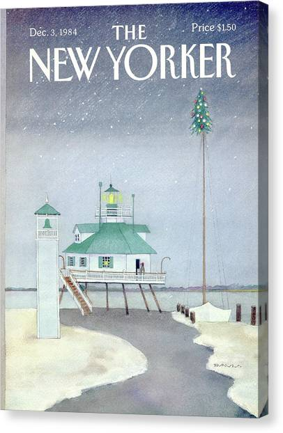Susan Canvas Print - New Yorker December 3rd, 1984 by Susan Davis