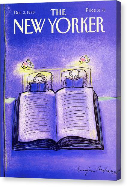 New Yorker December 3rd, 1990 Canvas Print