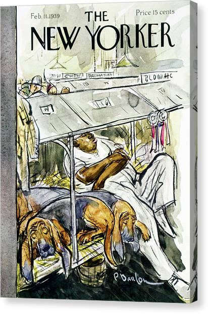 Representation Canvas Print - New Yorker February 11 1939 by Perry Barlow