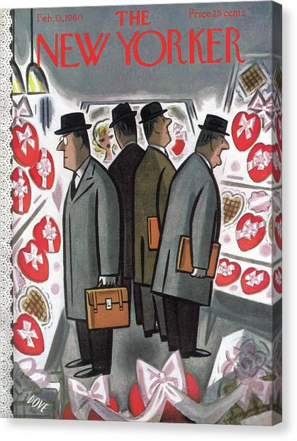 New Yorker February 13th, 1960 Canvas Print