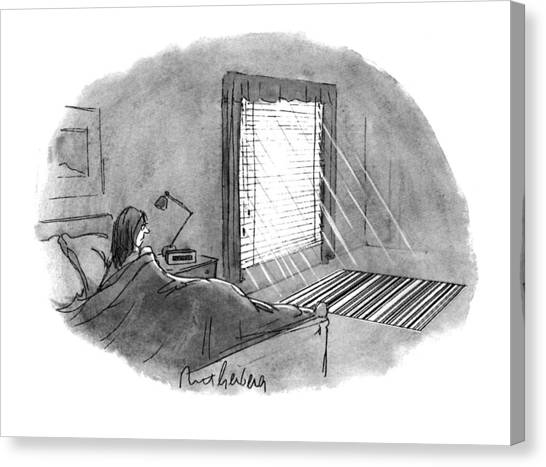 New Yorker January 10th, 1994 Canvas Print